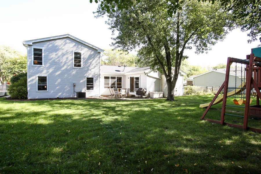 Real Estate Photography - 3940 West End Road, Downers Grove, IL, 60515 - Rear View