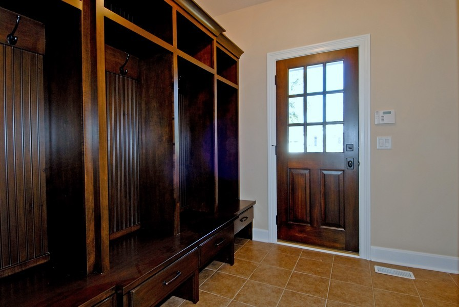 Real Estate Photography - 943 North Main St, Naperville, IL, 60563 - Mudroom Off Three Car Garage