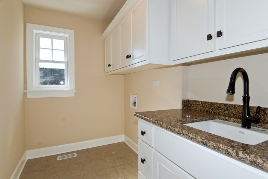 Real Estate Photography - 943 North Main St, Naperville, IL, 60563 - Second Floor Laundry Room
