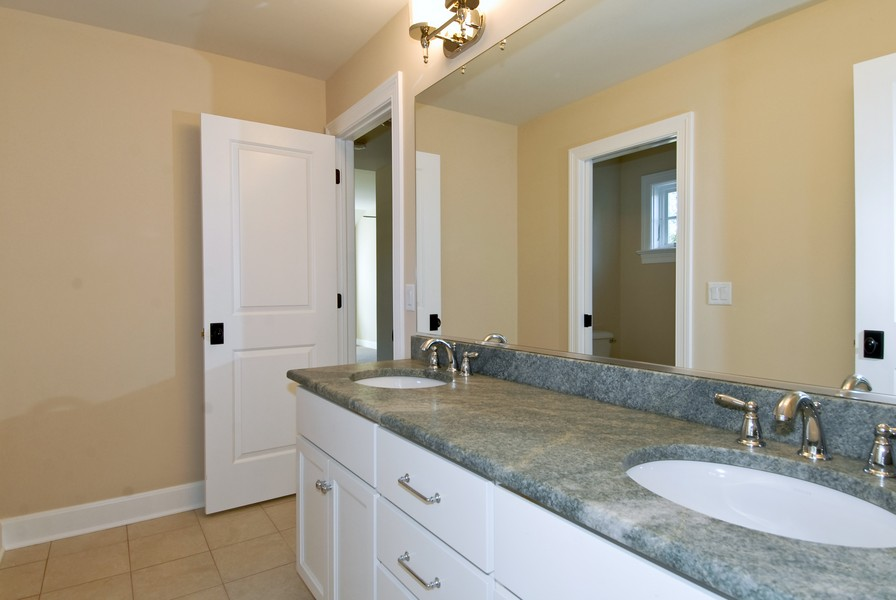 Real Estate Photography - 943 North Main St, Naperville, IL, 60563 - 2nd Bathroom