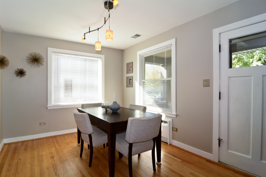 Real Estate Photography - 831 South Chatham Ave, Addison, IL, 60101 - Dining Room
