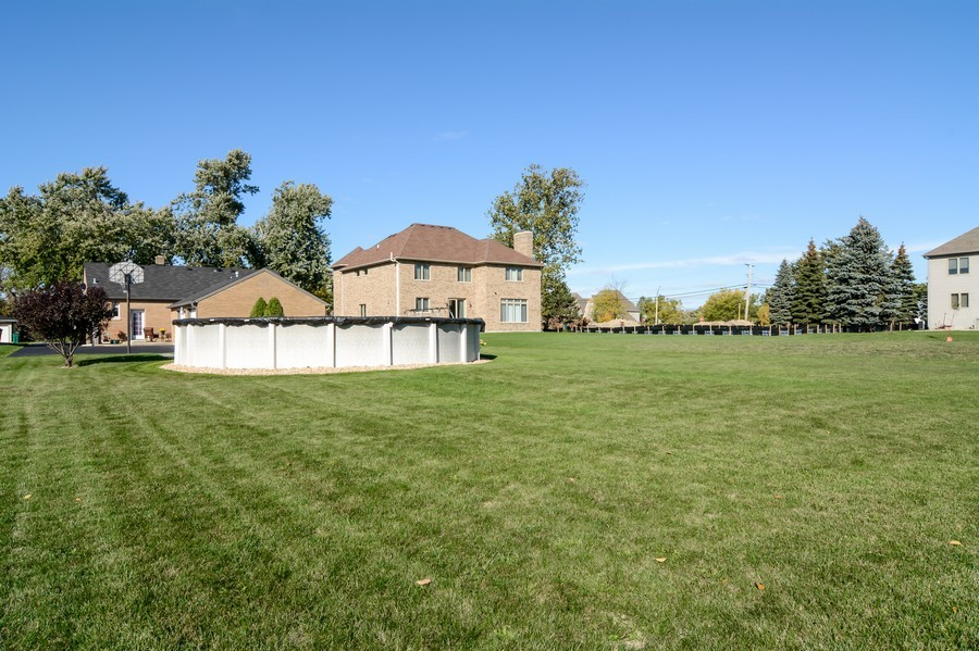 Real Estate Photography - 831 South Chatham Ave, Addison, IL, 60101 - Rear View