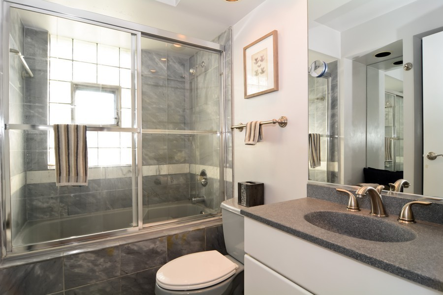 Real Estate Photography - 831 South Chatham Ave, Addison, IL, 60101 - Bathroom