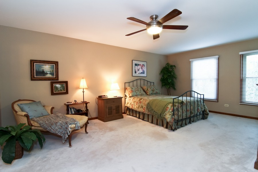 Real Estate Photography - 1016 Buckingham Dr, Naperville, IL, 60563 - Master Bedroom