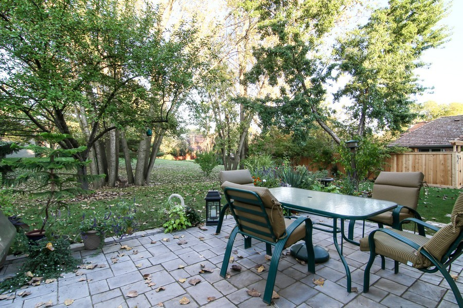 Real Estate Photography - 1016 Buckingham Dr, Naperville, IL, 60563 - Patio