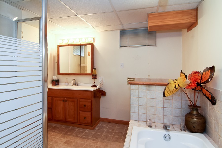 Real Estate Photography - 619 Austin St, Downers Grove, IL, 60515 - Bathroom