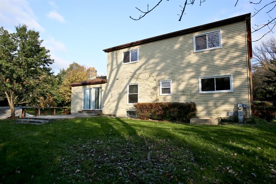 Real Estate Photography - 2701 Bordeaux Pl, Lisle, IL, 60532 - Rear View