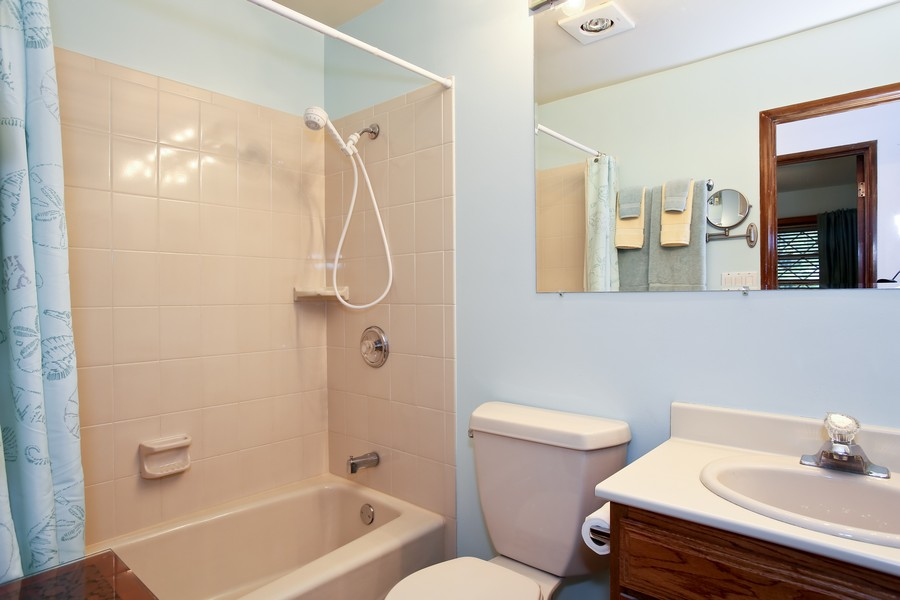 Real Estate Photography - 7721 Warwick Ave, Darien, IL, 60561 - Bathroom