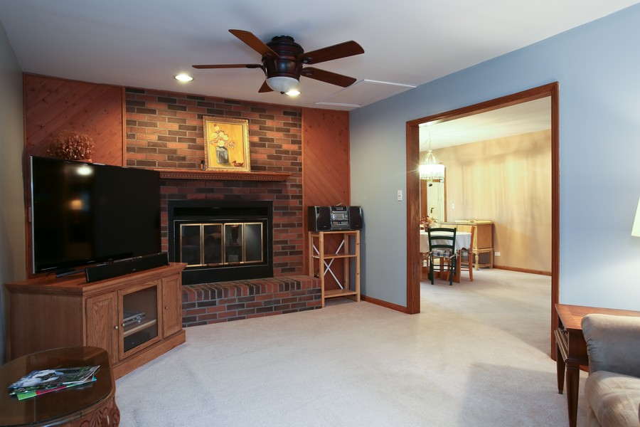 Real Estate Photography - 7721 Warwick Ave, Darien, IL, 60561 - Family Room / Dining Room