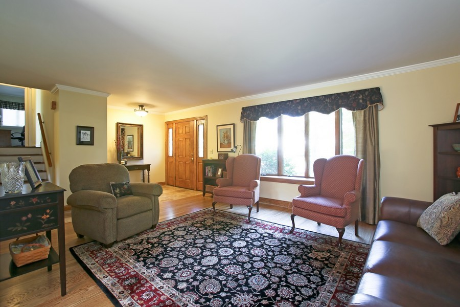 Real Estate Photography - 621 Magnolia Ct, Lombard, IL, 60148 - Living Room