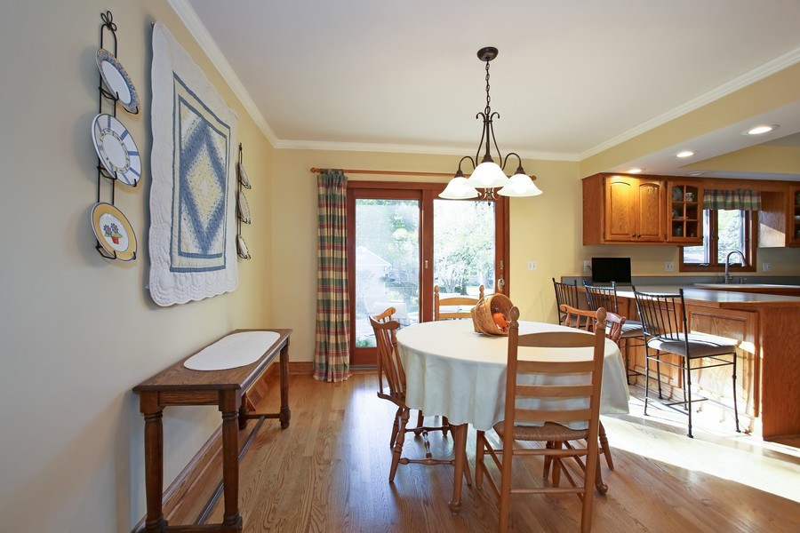 Real Estate Photography - 621 Magnolia Ct, Lombard, IL, 60148 - Dining Room
