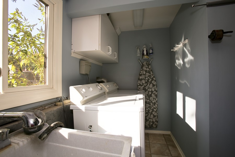 Real Estate Photography - 621 Magnolia Ct, Lombard, IL, 60148 - Laundry Room