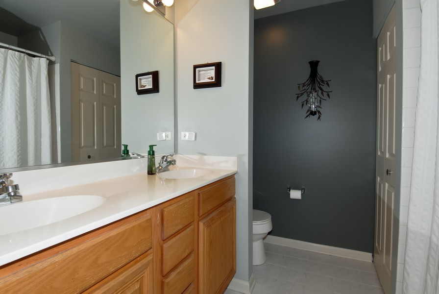 Real Estate Photography - 3106 Reflection Dr, Naperville, IL, 60564 - Master Bathroom
