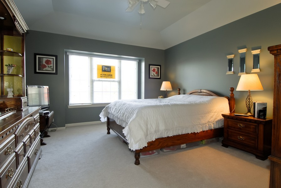 Real Estate Photography - 3106 Reflection Dr, Naperville, IL, 60564 - Master Bedroom