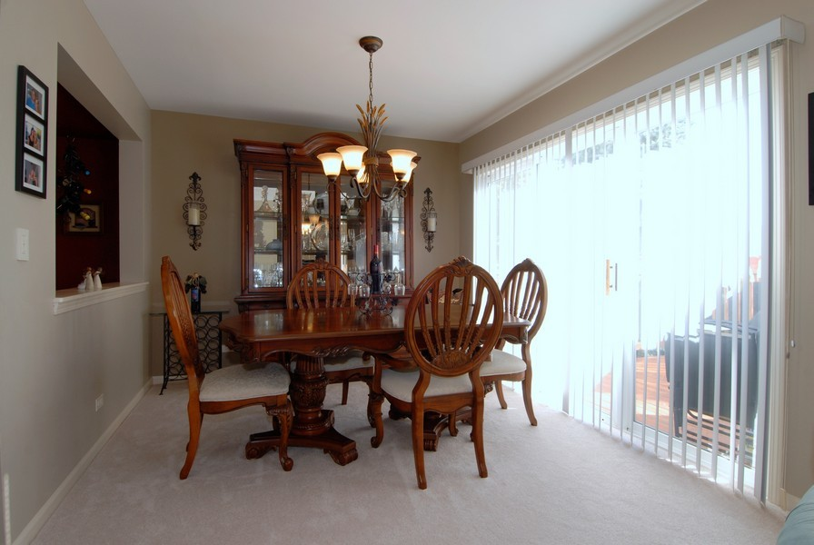 Real Estate Photography - 3106 Reflection Dr, Naperville, IL, 60564 - Dining Room