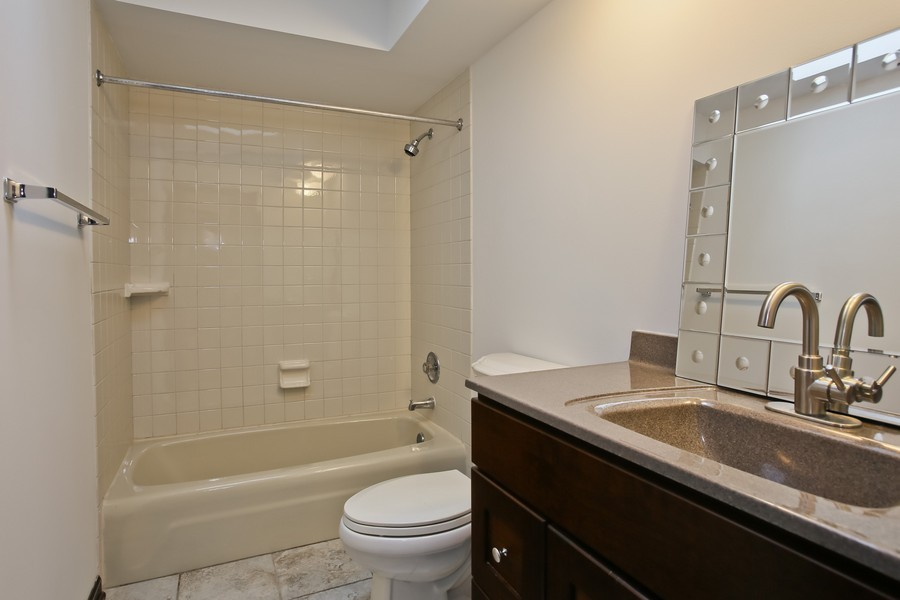 Real Estate Photography - 8001 Winter Cir, Downers Grove, IL, 60516 - 3rd Bathroom