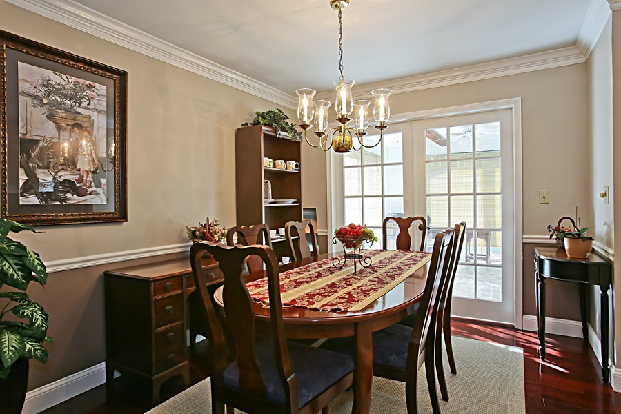 Real Estate Photography - 426 Blackhawk Dr, Westmont, IL, 60559 - Dining Room
