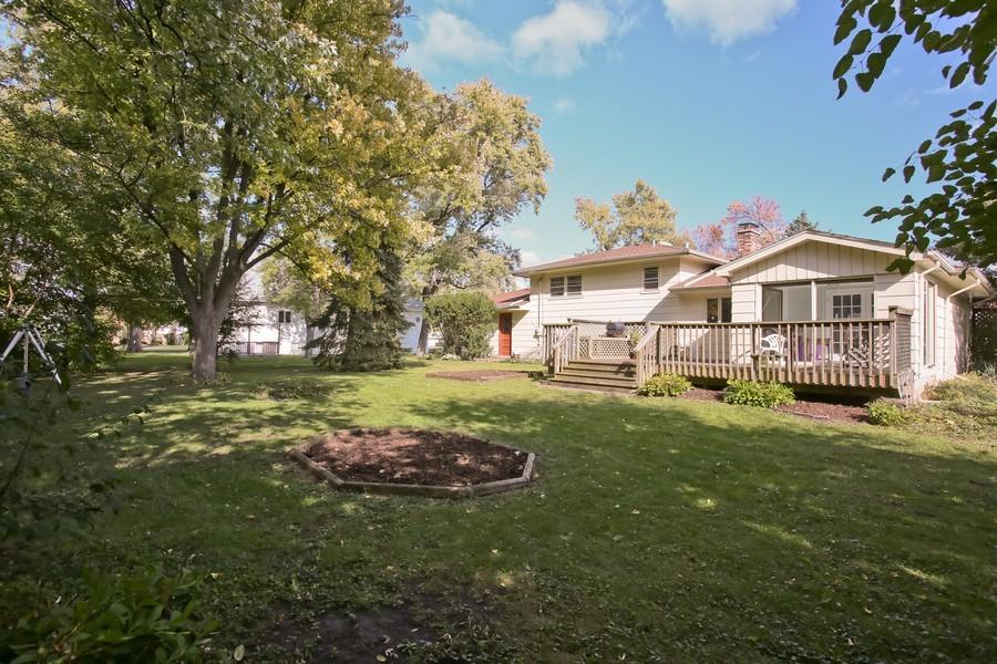 Real Estate Photography - 426 Blackhawk Dr, Westmont, IL, 60559 - Rear View