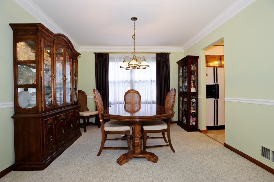 Real Estate Photography - 1712 Smokey Ct, Naperville, IL, 60563 - Dining Room
