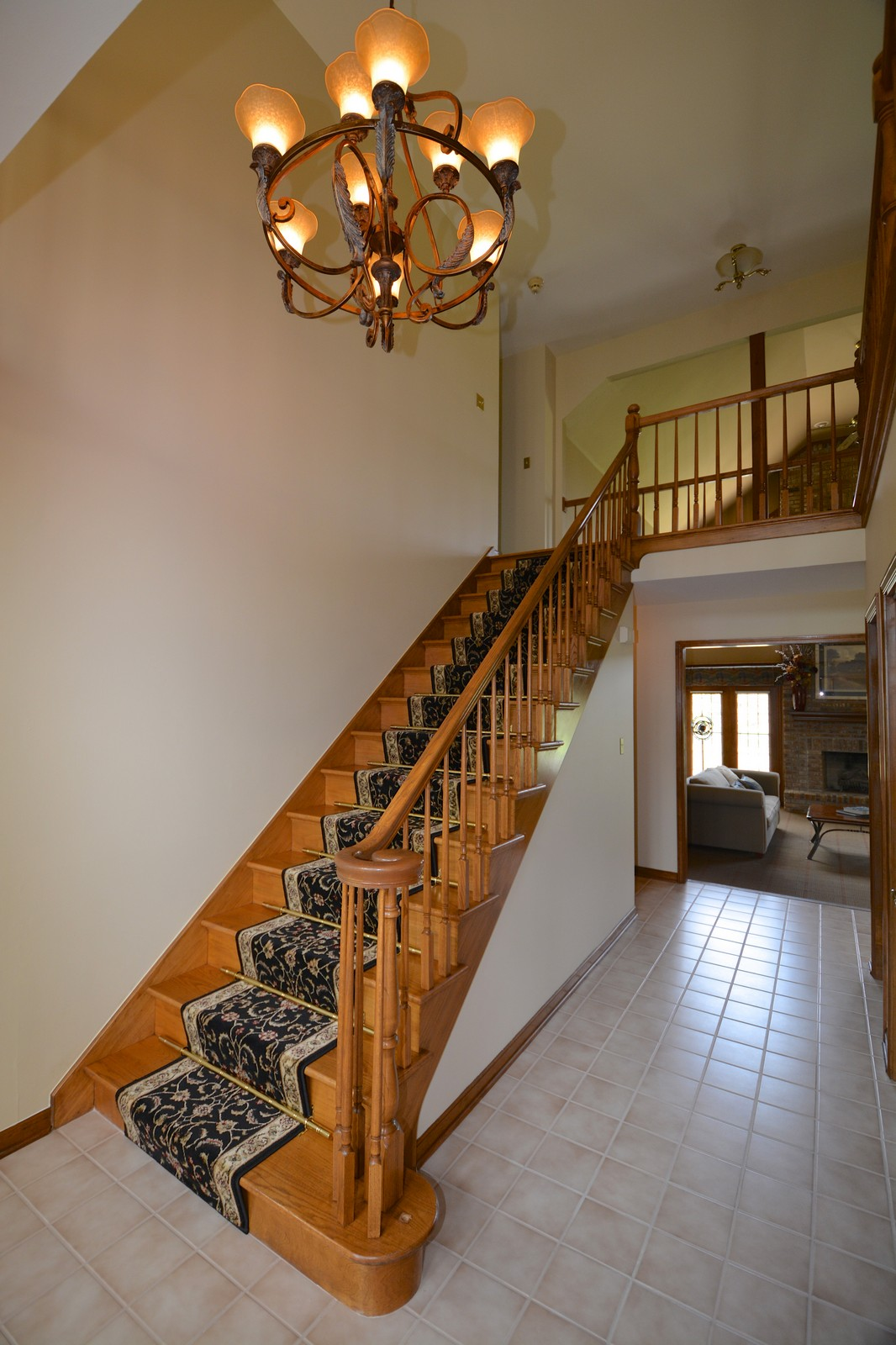 Real Estate Photography - 24060 Royal Worlington Dr, Naperville, IL, 60564 - Foyer