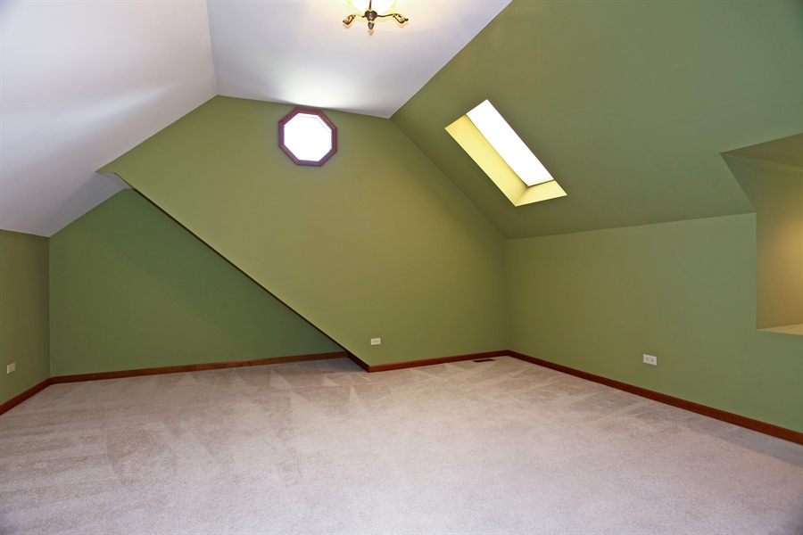 Real Estate Photography - 24060 Royal Worlington Dr, Naperville, IL, 60564 - Bonus Room