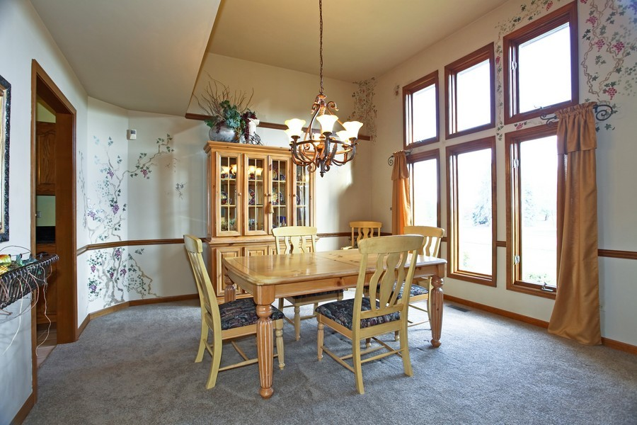 Real Estate Photography - 24060 Royal Worlington Dr, Naperville, IL, 60564 - Dining Room