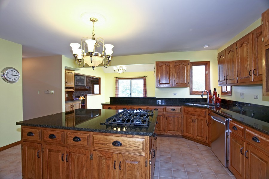 Real Estate Photography - 24060 Royal Worlington Dr, Naperville, IL, 60564 - Kitchen