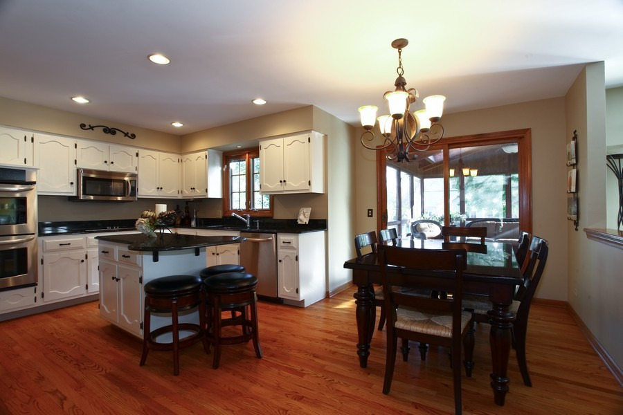 Real Estate Photography - 1508 Meadowland Dr, Naperville, IL, 60540 - Kitchen / Breakfast Room