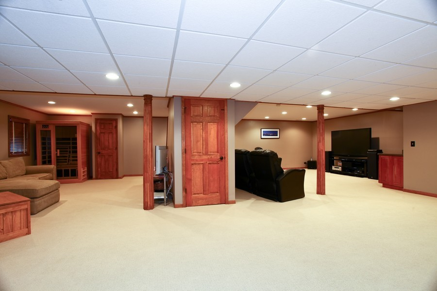 Real Estate Photography - 1508 Meadowland Dr, Naperville, IL, 60540 - Basement