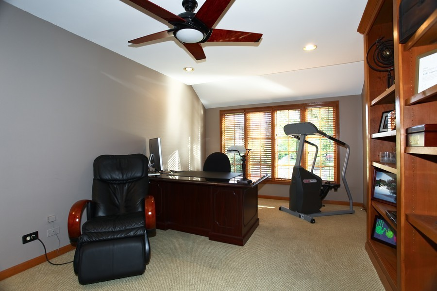 Real Estate Photography - 1508 Meadowland Dr, Naperville, IL, 60540 - Office