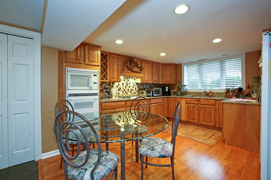Real Estate Photography - 15 Shelburne Dr, Oak Brook, IL, 60523 - 2nd Kitchen Lower Level