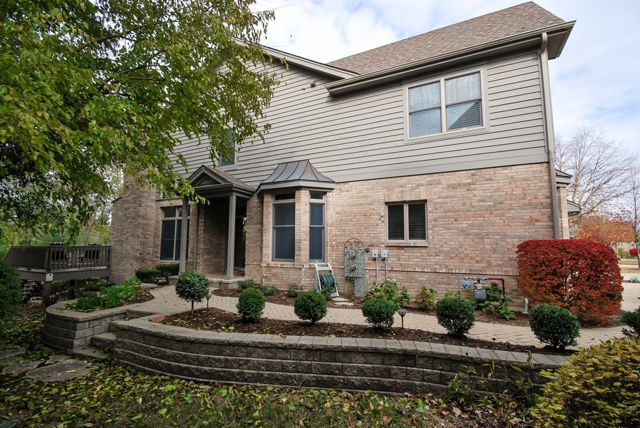 Real Estate Photography - 925 Oak Crest Ln, St. Charles, IL, 60175 - Side View