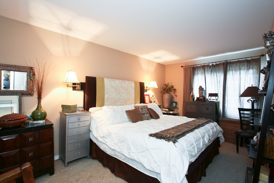 Real Estate Photography - 545 Burlington Ave, 106E, Downers Grove, IL, 60515 - Master Bedroom
