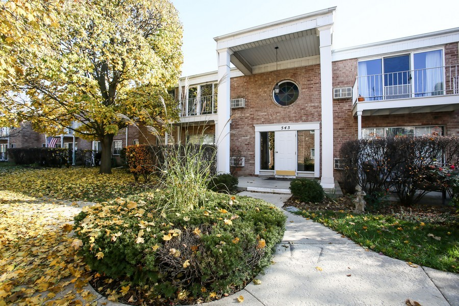Real Estate Photography - 545 Burlington Ave, 106E, Downers Grove, IL, 60515 - Front View
