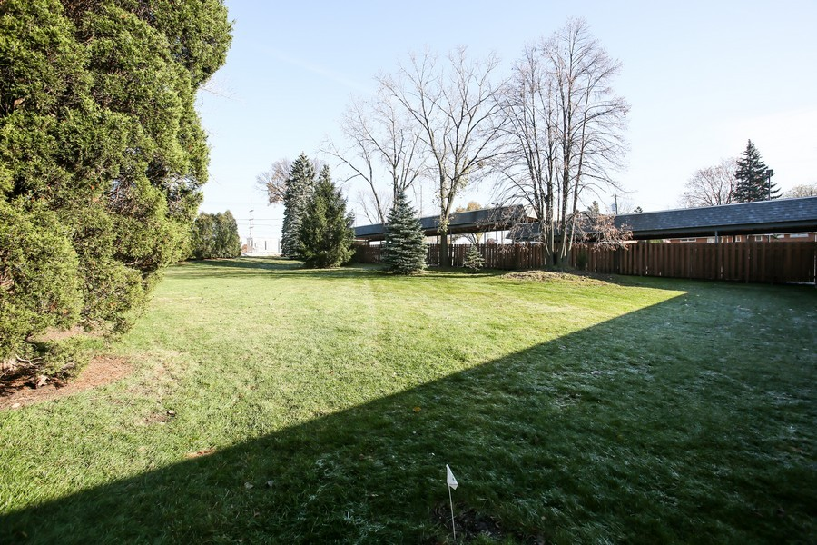 Real Estate Photography - 545 Burlington Ave, 106E, Downers Grove, IL, 60515 - Rear View