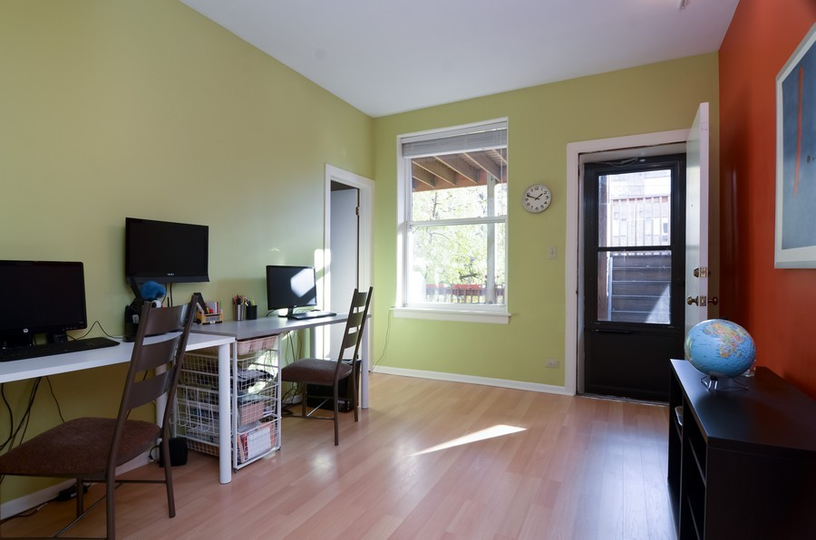 Real Estate Photography - 509 West Roscoe St, 2E, Chicago, IL, 60657 - 3rd Bedroom