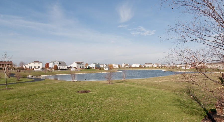 Real Estate Photography - 25430 South Mallard Dr, Channahon, IL, 60410 - Back Yard