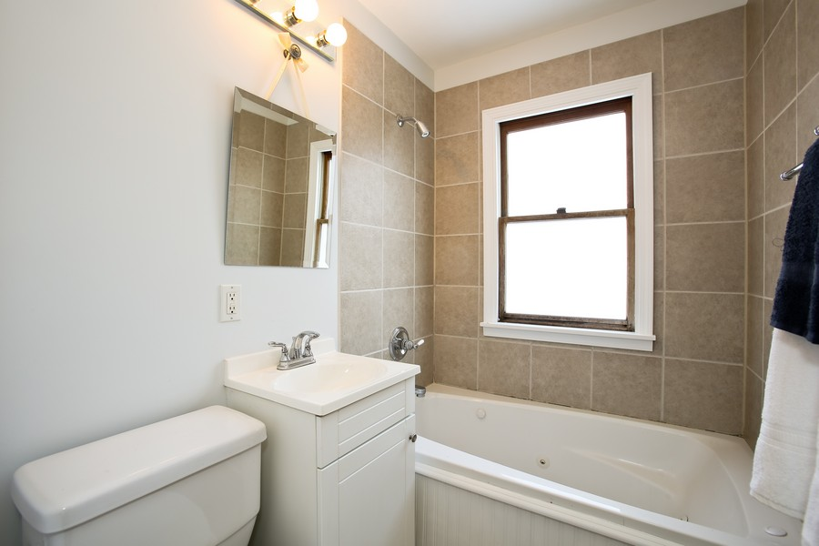 Real Estate Photography - 4520 Sterling Rd, Downers Grove, IL, 60515 - Bathroom