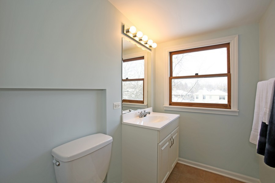 Real Estate Photography - 4520 Sterling Rd, Downers Grove, IL, 60515 - 2nd Bathroom