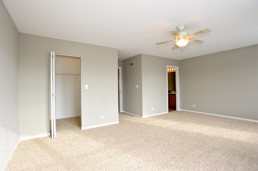 Real Estate Photography - 103 East Meadow Dr, Cortland, IL, 60112 - Master Bedroom