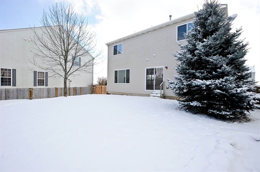 Real Estate Photography - 103 East Meadow Dr, Cortland, IL, 60112 - Back Yard