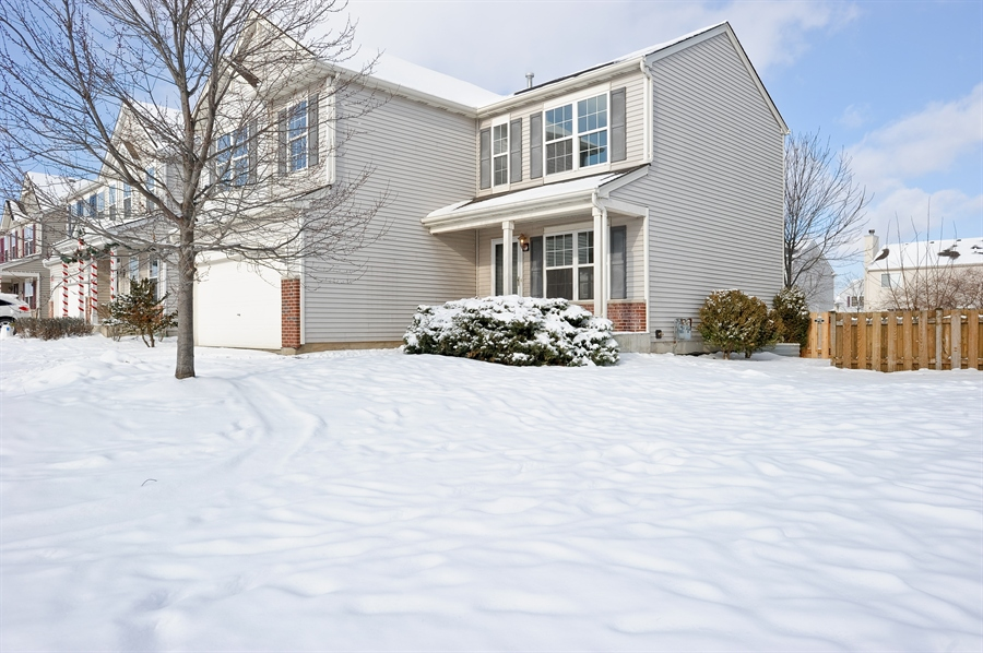 Real Estate Photography - 103 East Meadow Dr, Cortland, IL, 60112 - Front View