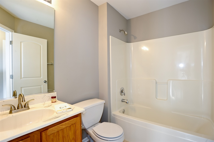 Real Estate Photography - 103 East Meadow Dr, Cortland, IL, 60112 - Bathroom