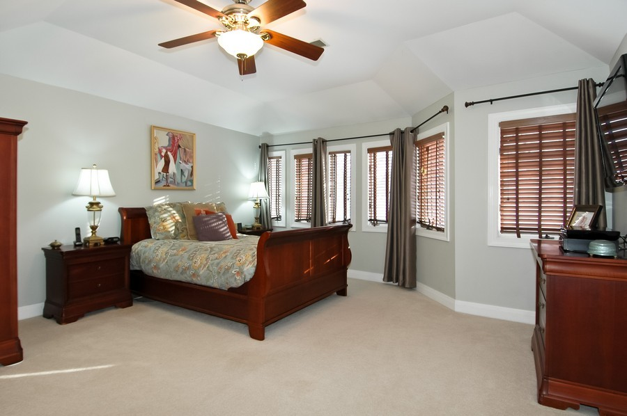Real Estate Photography - 213 West Lincoln Ave, Barrington, IL, 60010 - Master Bedroom