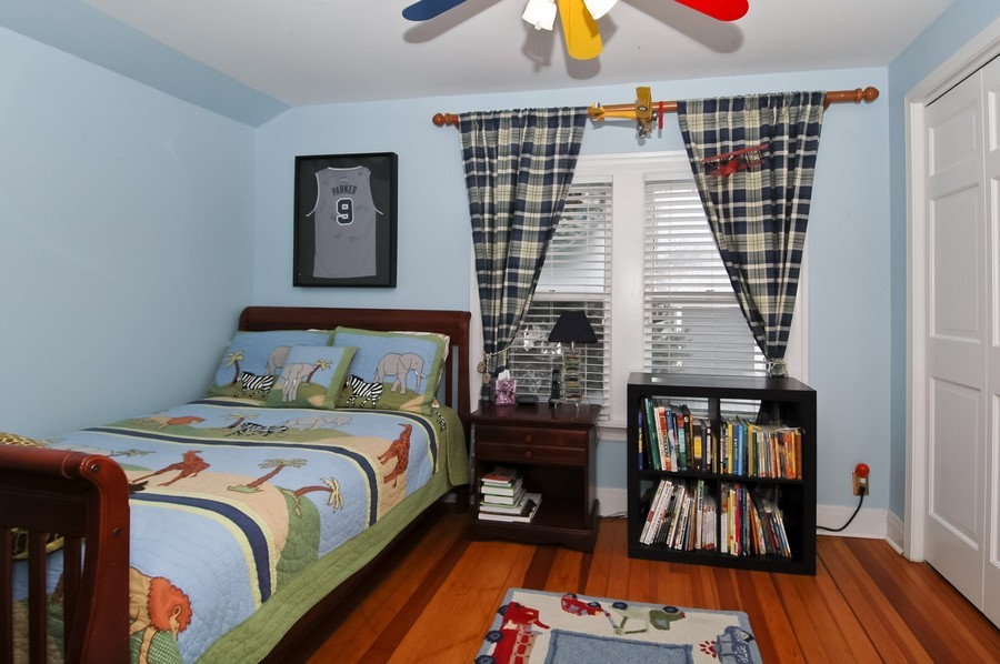 Real Estate Photography - 213 West Lincoln Ave, Barrington, IL, 60010 - 3rd Bedroom