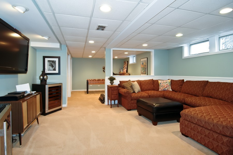 Real Estate Photography - 213 West Lincoln Ave, Barrington, IL, 60010 - Lower Level