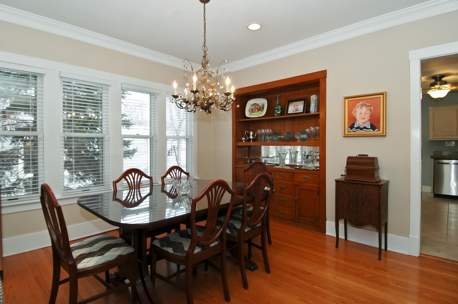 Real Estate Photography - 213 West Lincoln Ave, Barrington, IL, 60010 - Dining Room