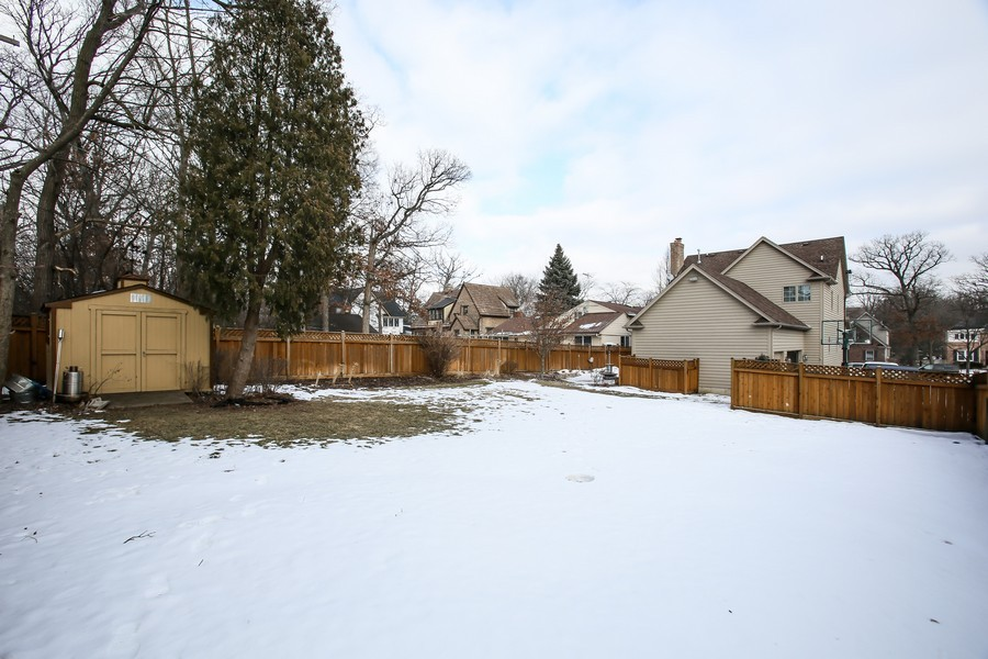Real Estate Photography - 4712 Seeley AVE, Downers Grove, IL, 60515 - Rear View
