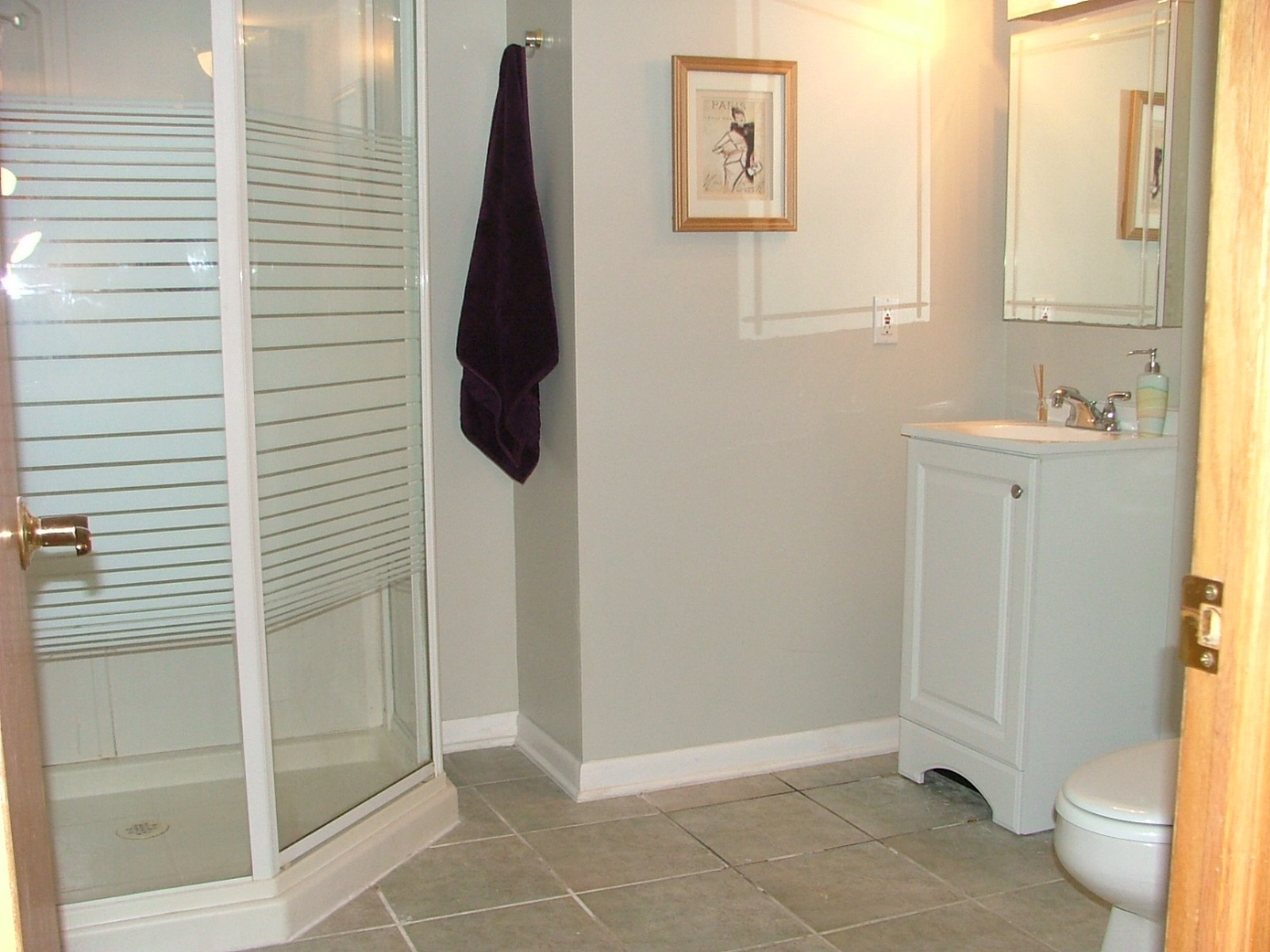 Real Estate Photography - 1581 Madison Ave, St. Charles, IL, 60174 - Basement Bathroom