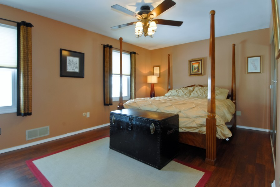 Real Estate Photography - 1581 Madison Ave, St. Charles, IL, 60174 - Master Bedroom